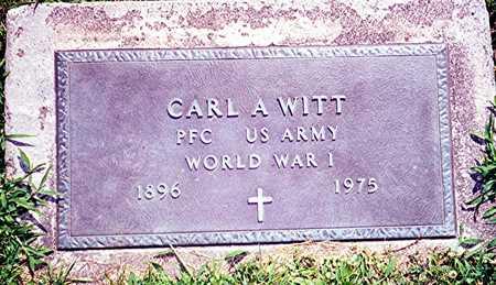 WITT, PFC CARL A. - Jackson County, Iowa   PFC CARL A. WITT