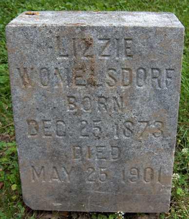 WOMELSDORF, LIZZIE - Jackson County, Iowa | LIZZIE WOMELSDORF