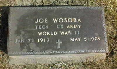 WOSOBA, JOE - Jackson County, Iowa   JOE WOSOBA