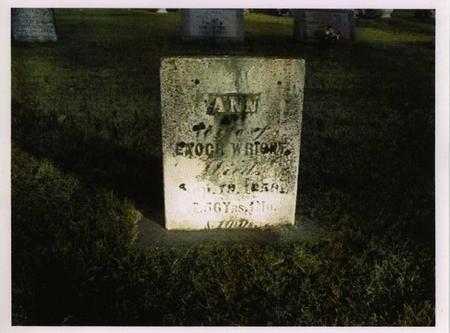 HOOVER WRIGHT, ANN - Jackson County, Iowa   ANN HOOVER WRIGHT