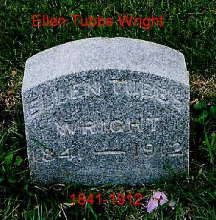 WRIGHT, ELLEN - Jackson County, Iowa | ELLEN WRIGHT