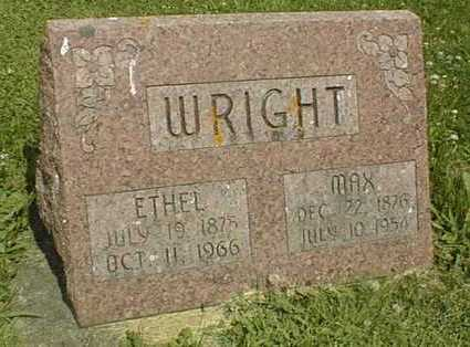WRIGHT, MAX - Jackson County, Iowa | MAX WRIGHT