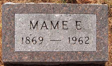 WRIGHT, MAME E. - Jackson County, Iowa | MAME E. WRIGHT