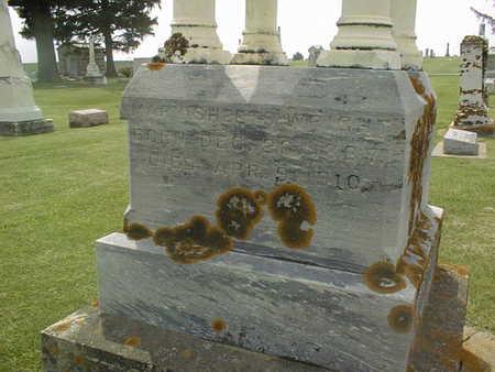 SHEETS WRIGHT, MARY - Jackson County, Iowa   MARY SHEETS WRIGHT