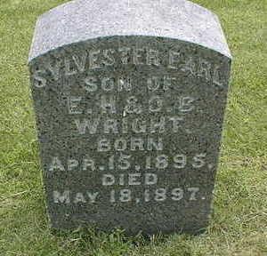 WRIGHT, SYLVESTER EARL - Jackson County, Iowa | SYLVESTER EARL WRIGHT