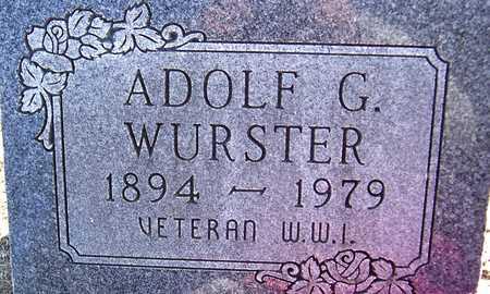 WURSTER, ADOLF G. - Jackson County, Iowa | ADOLF G. WURSTER