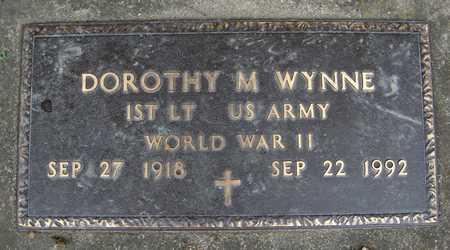 WYNNE, DOROTHY M. - Jackson County, Iowa | DOROTHY M. WYNNE