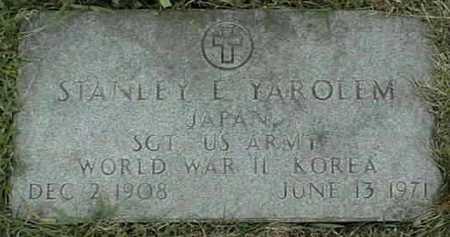 YAROLEM, STANLEY E. - Jackson County, Iowa   STANLEY E. YAROLEM
