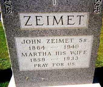 ZEIMET, JOHN,SR - Jackson County, Iowa | JOHN,SR ZEIMET