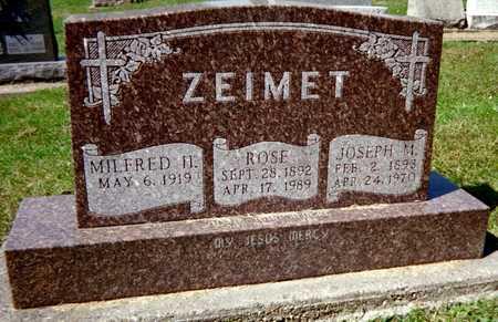 ZEIMET, ROSE - Jackson County, Iowa | ROSE ZEIMET