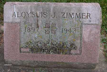 ZIMMER, ALOYSIUS J. - Jackson County, Iowa | ALOYSIUS J. ZIMMER