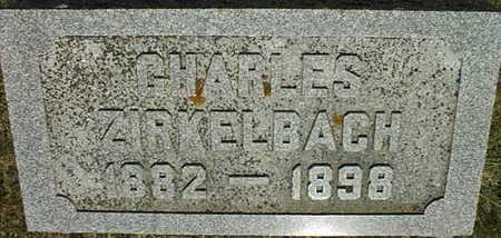 ZIRKELBACH, CHARLES - Jackson County, Iowa | CHARLES ZIRKELBACH