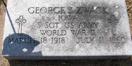 ZWACK, GEORGE J. - Jackson County, Iowa   GEORGE J. ZWACK