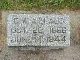 AILLAUD, CHARLES WILLIAM - Jasper County, Iowa   CHARLES WILLIAM AILLAUD