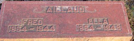 MCMURRAY AILLAUD, ELLA - Jasper County, Iowa   ELLA MCMURRAY AILLAUD