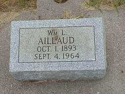 AILLAUD, WILLIAM LOUIS - Jasper County, Iowa | WILLIAM LOUIS AILLAUD