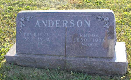 ANDERSON, CHARLES - Jasper County, Iowa | CHARLES ANDERSON