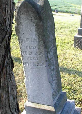 ANDERSON, FRANCIS J. - Jasper County, Iowa   FRANCIS J. ANDERSON