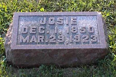 ROSENBERGER ANDERSON, JOSIE - Jasper County, Iowa | JOSIE ROSENBERGER ANDERSON