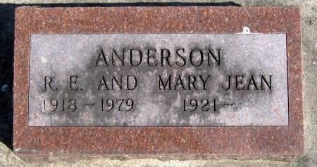 ANDERSON, RAYMOND E. - Jasper County, Iowa | RAYMOND E. ANDERSON