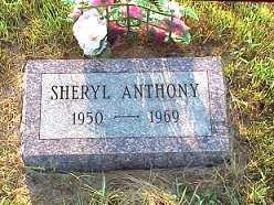 ANTHONY, SHARYL - Jasper County, Iowa | SHARYL ANTHONY