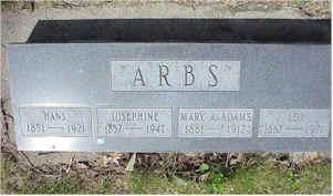 ARBS, JOSEPHINE - Jasper County, Iowa | JOSEPHINE ARBS