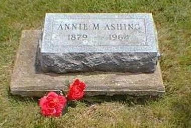 TLAM ASHING, ANNA M. - Jasper County, Iowa | ANNA M. TLAM ASHING