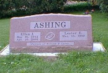 TAYLOR ASHING, ELLEN I. - Jasper County, Iowa | ELLEN I. TAYLOR ASHING