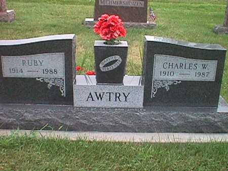 AWTRY, CHARLES WESLEY - Jasper County, Iowa | CHARLES WESLEY AWTRY