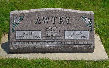 AWTRY, RUTH - Jasper County, Iowa | RUTH AWTRY