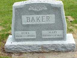 BAKER, MARY - Jasper County, Iowa | MARY BAKER