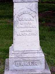 BAKER, CHARLES - Jasper County, Iowa | CHARLES BAKER