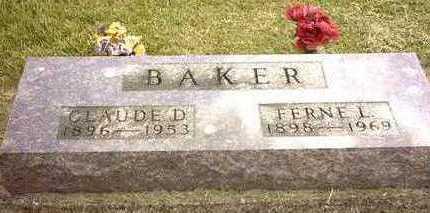 BAKER, FERNA LORRIANE - Jasper County, Iowa | FERNA LORRIANE BAKER