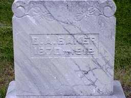 BAKER, DELPHIA A. - Jasper County, Iowa   DELPHIA A. BAKER