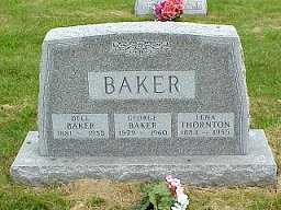 BAIR BAKER, SARA DELL - Jasper County, Iowa | SARA DELL BAIR BAKER