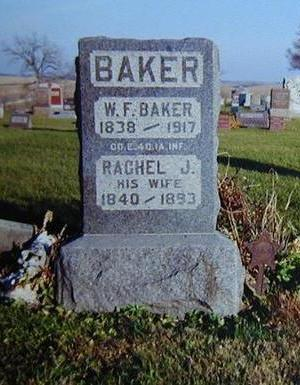 BAKER, WILLIAM - Jasper County, Iowa | WILLIAM BAKER
