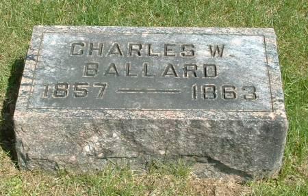BALLARD, CHARLES W - Jasper County, Iowa | CHARLES W BALLARD
