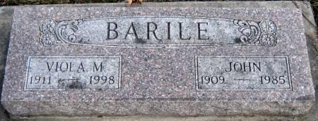 EPPS BARILE, VIOLA M. - Jasper County, Iowa | VIOLA M. EPPS BARILE