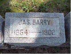 BARRY, JAMES JR. - Jasper County, Iowa   JAMES JR. BARRY