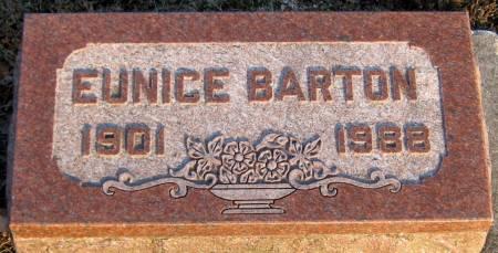 BARTON, EUNICE L. - Jasper County, Iowa | EUNICE L. BARTON