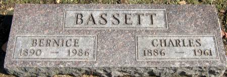 BASSETT, BERNICE M. - Jasper County, Iowa   BERNICE M. BASSETT