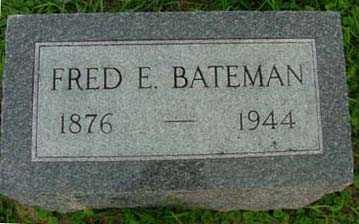 BATEMAN, FRED E. - Jasper County, Iowa | FRED E. BATEMAN