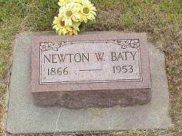 BATY, NEWTON W. - Jasper County, Iowa | NEWTON W. BATY