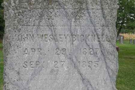 BICKNELL, JOHN WESLEY - Jasper County, Iowa | JOHN WESLEY BICKNELL