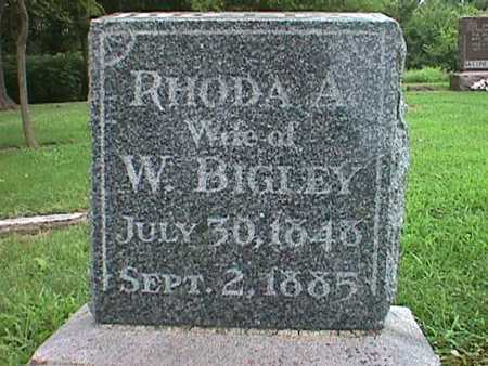 BIGLEY, RHODA - Jasper County, Iowa | RHODA BIGLEY