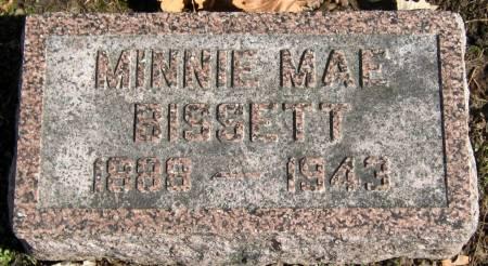 BISSETT, MINNIE MAE - Jasper County, Iowa | MINNIE MAE BISSETT