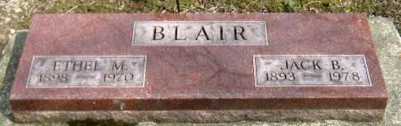 OLDFIELD BLAIR, ETHEL MAE - Jasper County, Iowa | ETHEL MAE OLDFIELD BLAIR