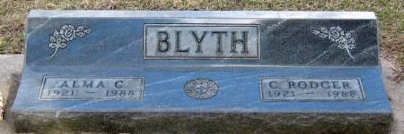 BLYTH, ALMA CHRISTINE - Jasper County, Iowa | ALMA CHRISTINE BLYTH