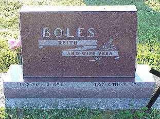 BOLES, VERA - Jasper County, Iowa | VERA BOLES