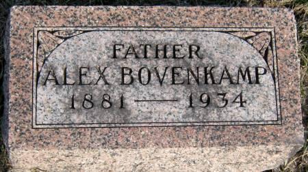 BOVENKAMP, ALEX - Jasper County, Iowa | ALEX BOVENKAMP